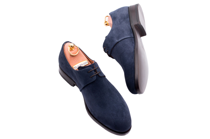 Buty Patine 77017 Suede Blue