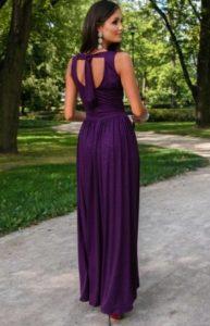 zdjęcie wieczorowej sukni
