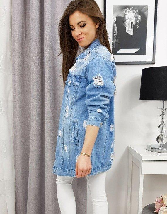 jeansowa kurtka damska na sezon wiosenny 2020
