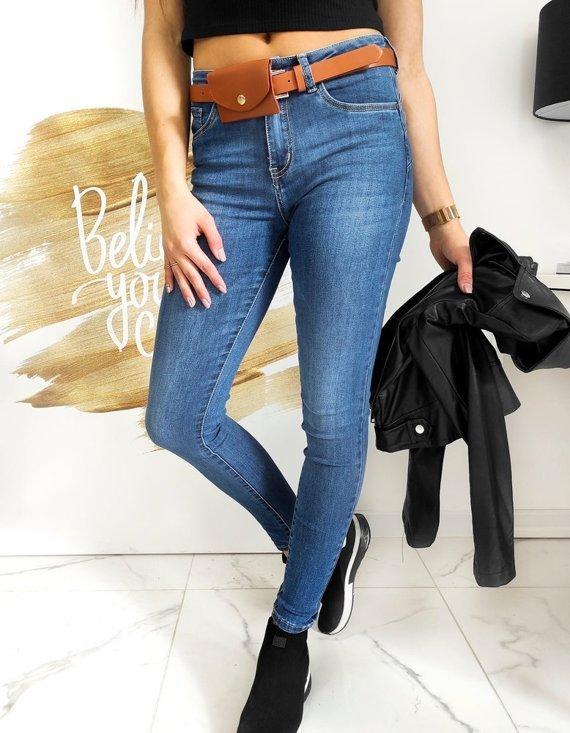 damskie jeansy skinny fit